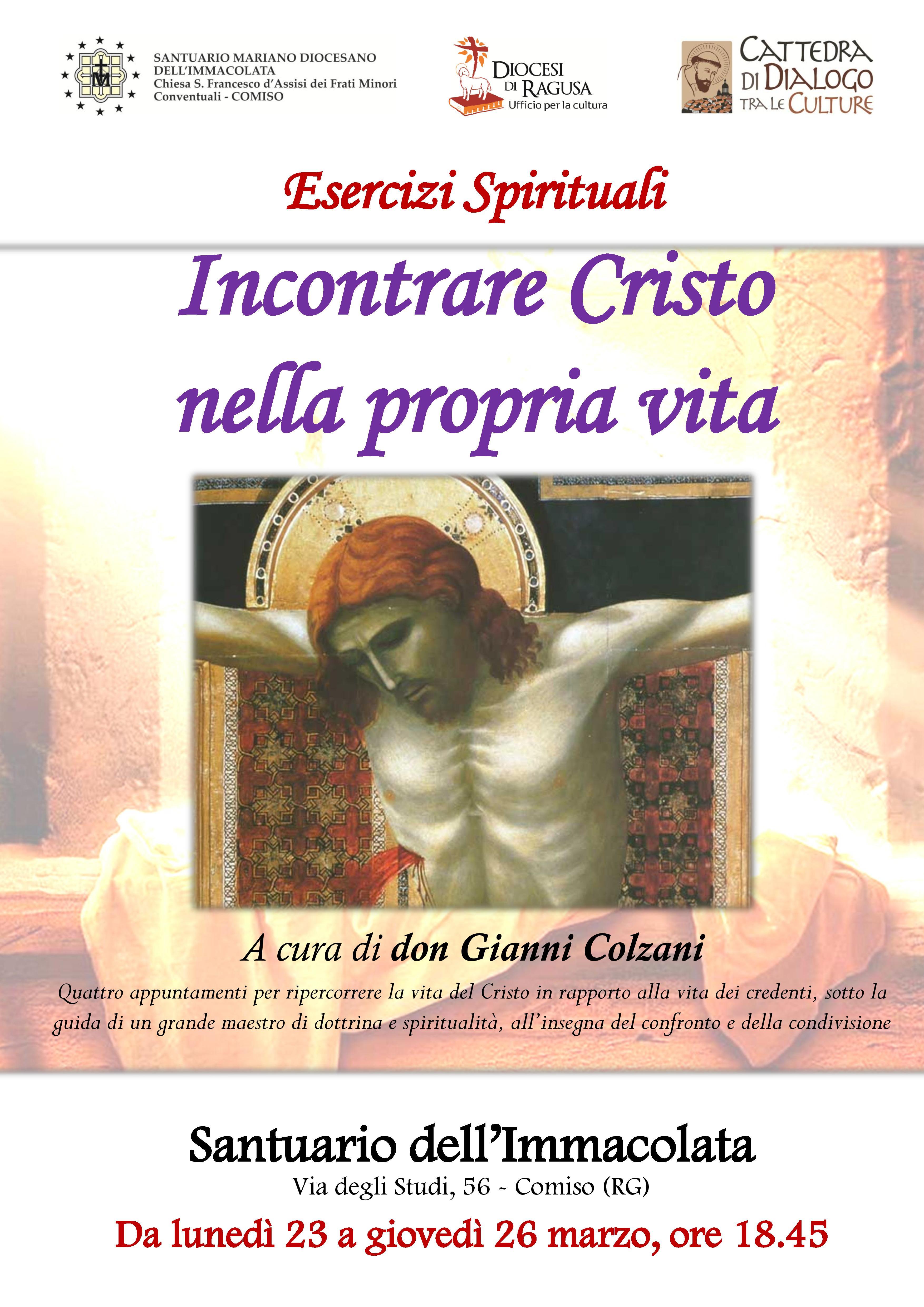 locandina_A3_Incontrare Cristo